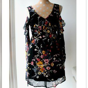 NWT Band of Gypsies Cold Shoulder Dress S